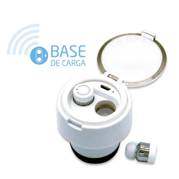 Botella auriculares tapon - longfit care wellness fitness health